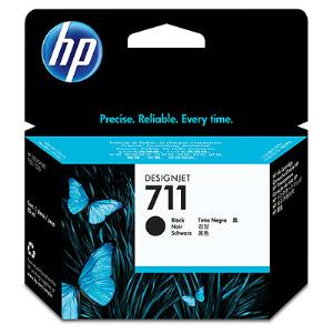 HP 711 80ml Black Ink Cartridge