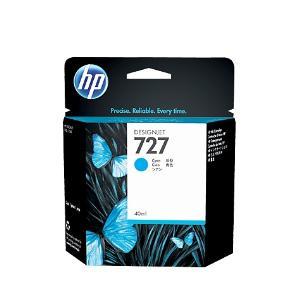 HP 727 40ml Cyan Ink Cartridge