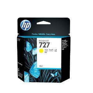 HP 727 40ml Yellow Ink Cartridge