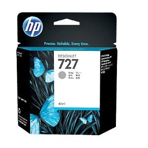 HP 727 40ml Grey Ink Cartridge