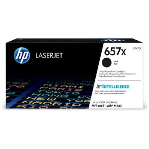 LaserJet Toner Crtg 657X High Yield Black