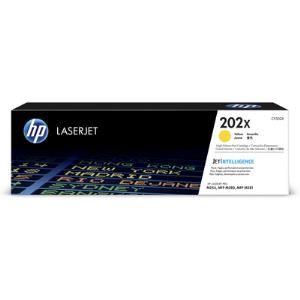 HP 202X Yellow LaserJet Toner Cartridge