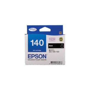 140 Extra High Capacity Black Ink Cartridge For Workforce 60, 625, 630, 633, 840