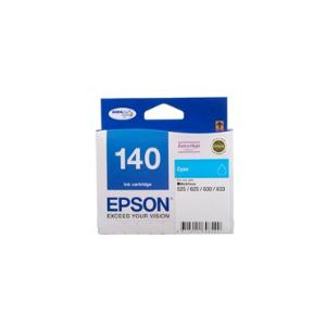 140 Extra High Capacity Cyan Ink Cartridge For Workforce 60, 625, 630, 633, 840