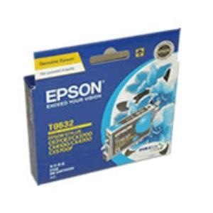 T0632 Cyan Ink Cartridge For Stylus C67, C87, C87+, CX3700, CX4100, CX4700, CX5700F