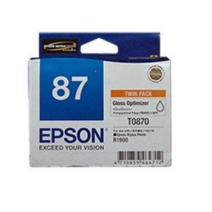 T0870 Gloss Optimiser Cartridge For Stylus Photo R1900