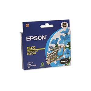 T0472 Cyan Ink - Stylus C63, C65, C83, CX3500, CX6500