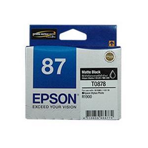 T0878 Matte Black Ink Cartridge For Stylus Photo R1900