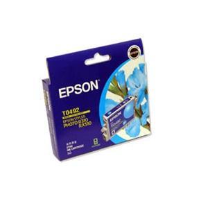 T0492 Cyan Ink Cartridge For Stylus Photo R210, R230, R310, R350, RX510, RX630, RX650