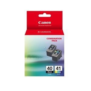 PG40CL41CP 1 x PG40 Pigment Black Ink Cartridge & 1 X CL41 FINE Colour Ink Cartridge