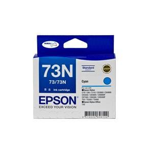 73/73N Cyan Ink Cartridge For Stylus C79, C90, C110, T20, T21, CX3900, CX4900, CX5500, CX5900, CX6900F, CX7300, CX8300, CX9300F, TX100, TX110, TX200, TX210, NX220, TX400, TX410, TX550W, T30,T40W