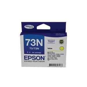 73/73N Yellow Ink Cartridge For Stylus C79, C90, C110, T20, T21, CX3900, CX4900, CX5500, CX5900, CX6900F, CX7300, CX8300, CX9300F, TX100, TX110, TX200,TX210,NX220,TX400, TX410, TX550W, T30,T40W
