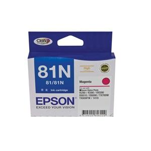 81N Magenta Ink Cartridget Stylus Photo 1410, R290, R390, T50, RX590, RX610, RX690, TX650, TX700W, TX710W, TX800FW, TX810FW, ARTISAN 725, 835