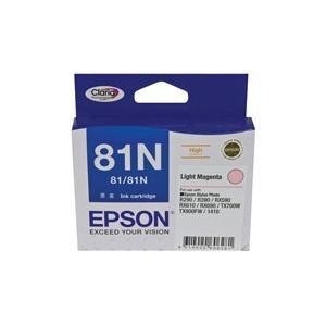 81N Light Magenta Ink Cartridge For Stylus Photo 1410, R290, R390, T50, RX590, RX610, RX690, TX650, TX700W, TX710W, TX800FW, TX810FW, ARTISAN 725, 835