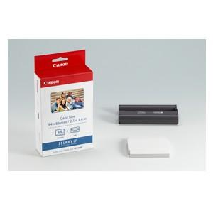 KC36IP Ink/Paper Pack, Credit Card Size 86x54mm, to suit Selphy CP series