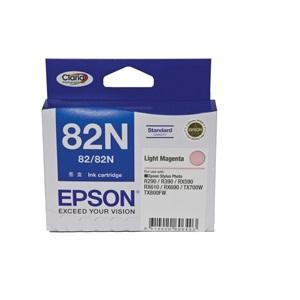 Standard Capacity Light Magenta Ink Cartridge For Stylus Photo R290, R390, T50, RX590, RX610, RX690, TX650, TX700W, TX710W, TX800FW, TX810FW, ARTISAN 725, 835