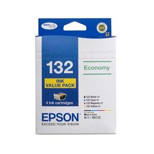T132 Value 4 Ink Pack for use with Stylus N11 & NX125