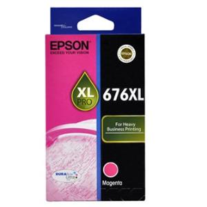 DURABrite Ultra 676XL Ink Cartridge - Magenta - Inkjet - 1200 Page