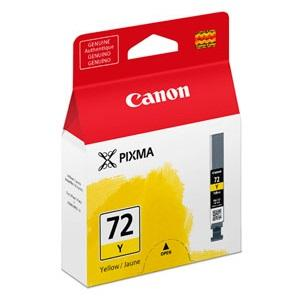 PGI72Y Yellow ink tank for PIXMA PRO10
