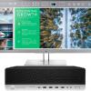 HP EliteDesk 800 G4 SFF, Intel I5-8500 4.1 GHz+ HP ProDisplay 23.8 Inch Monitor